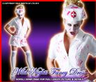 HALLOWEEN FANCY DRESS FUN BLOODY KILLER NURSE XXL 20-22